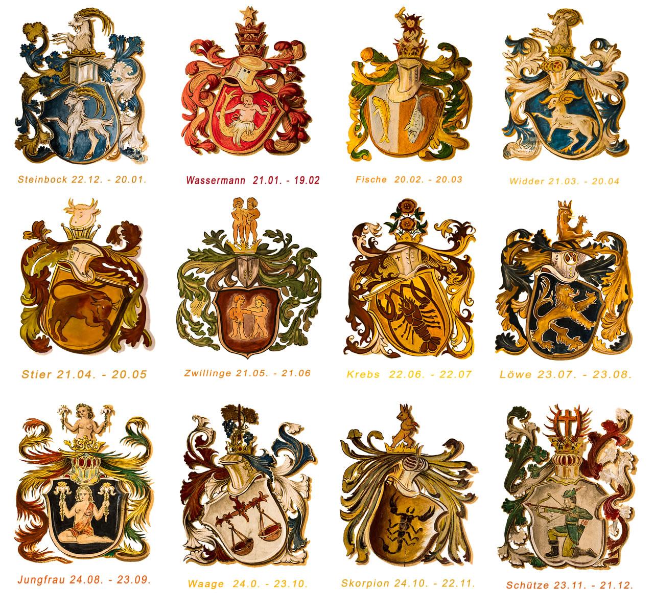 Fechas signos zodiacales - Signos del zodiaco en orden ...